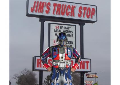 IMPRESSIONTMND: Optimus Prime