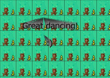 Banana dance with Pedobear