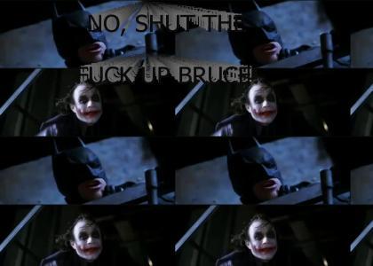 Bale hates the Joker