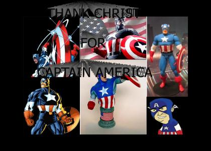 Be Thankful For Capt. America! (UPDATED, SOUNDS)