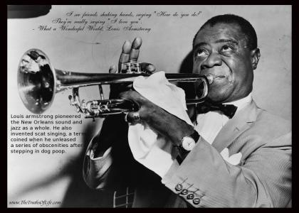 Legends of Jazz- #1: Louis Armstrong (Not Funny)