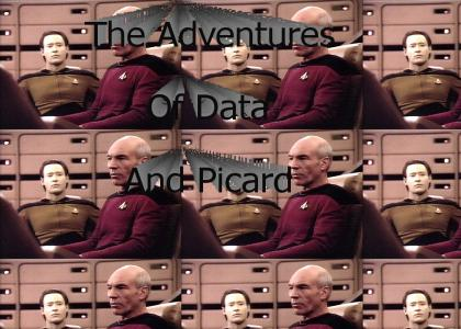 The Adventures Of Data And Picard