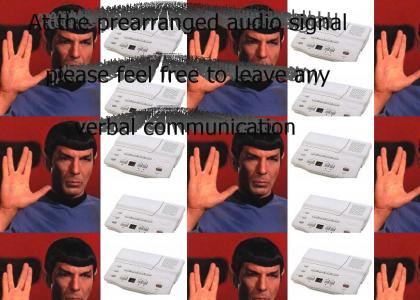 Spock Answering Machine