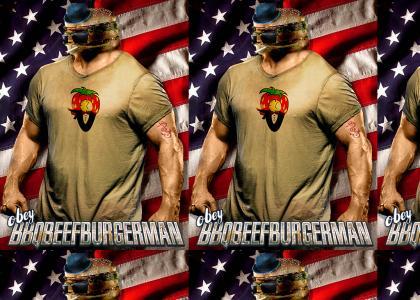 OBEY BBQBEEFBURGERMAN