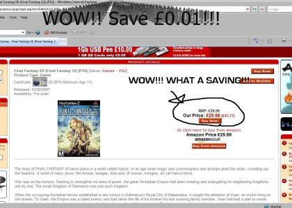 FANTASTIC Final Fantasy 12 Saving!!!!