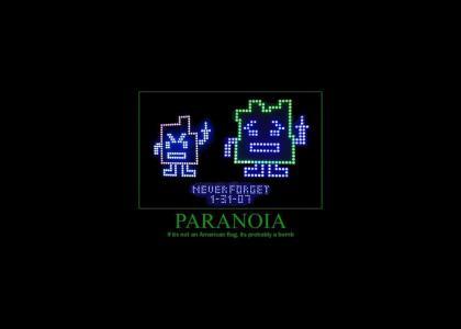 Life Lessons # 13: Paranoia