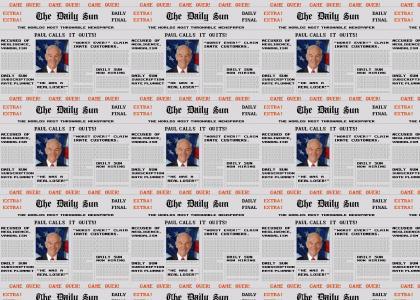 Ron Paul Ends Campaign