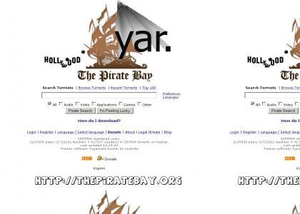 The Pirate Bay is Alive