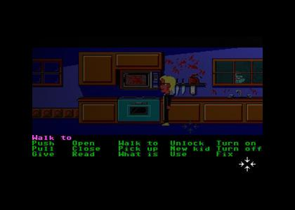 You have played Maniac Mansion for THE LAST TIME!