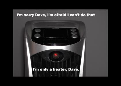 HAL is installed in my heater!