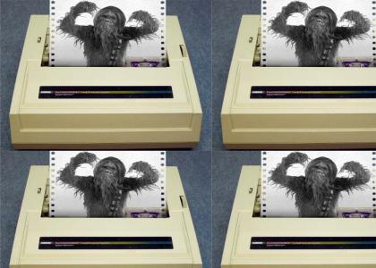 Chewbacca Printer (updated)