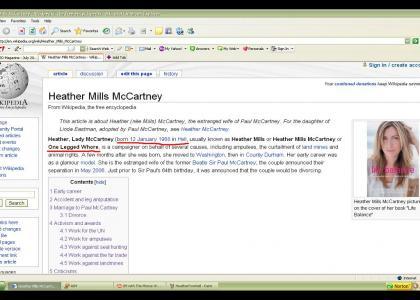 Paul McCartney Edits Wikipedia