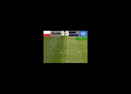 Dennis Bergkamp scores for POLEND
