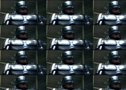 Robocop is having a wonderful time