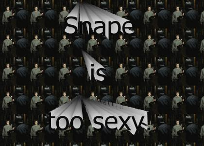Snape is too sexy!
