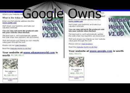 Ebaum pwnd by google