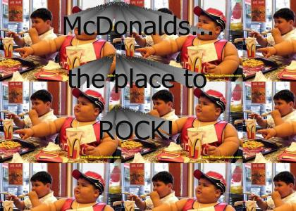 McDonalds Kids ROCK!