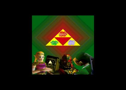 Ytmnd Triforce Unites