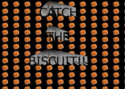 I WILL CATCH THE BISCUIT