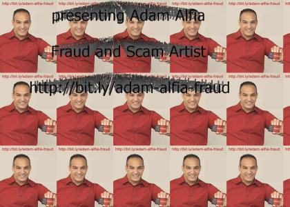 Adam Alfia - Fraud/Scam Artist