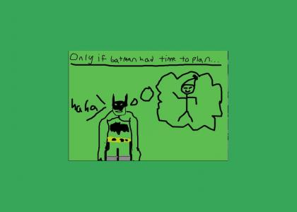 Inside the mind of Batman