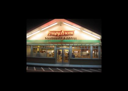I Knew He Worked At Krispy Kreme