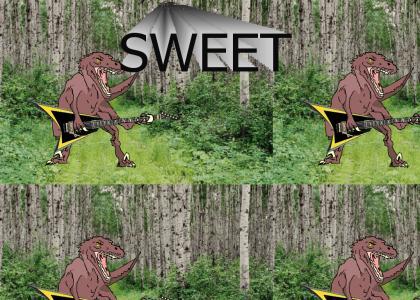 If Velociraptors played Guitar...
