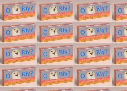 O RLY? Pregnancy test
