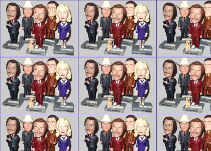 Anchorman Bobbleheads
