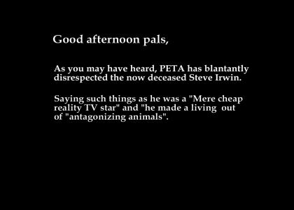 Declaration of War versus PETA