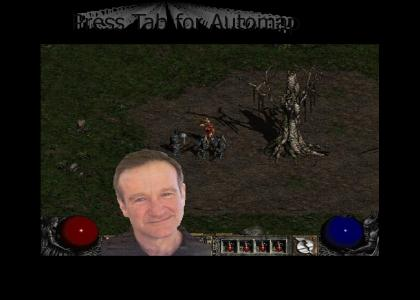 Robin Williams Gets Lost in Diablo 2