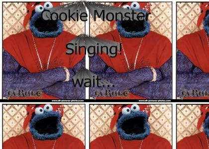 Cookie Monster Sings!