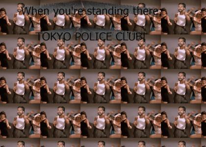friendly Bear Police Club