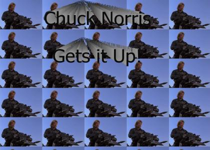 Chuck Norris Gets it Up.