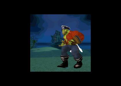 You arr a Pirate! Yar har fiddle dee dee