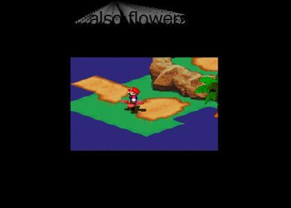 Mario is ridin spinnaz...