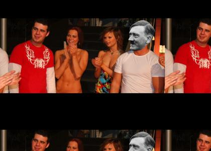 Hitler + relaxed setting = Comedy Gold