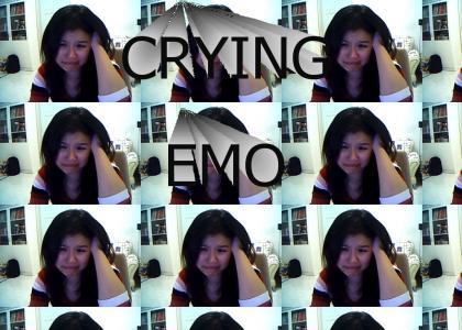 HAHA CRYING EMO