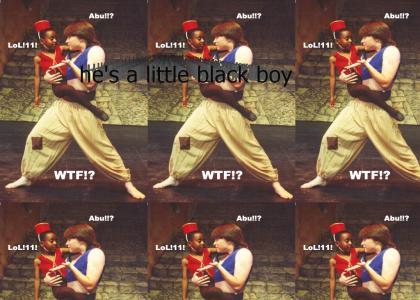 abu isnt a monkey