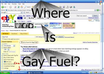 I can't find Gay Fuel