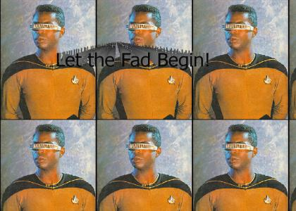 Geordi Can't Escape YTMND Fad Status