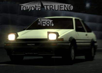 SPEED CAR AE86