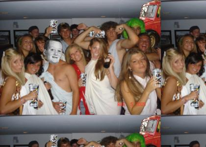 SOUGYS GAY FUEL TOGA PARTY!