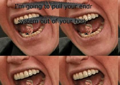 Gary Busey will eat you alive