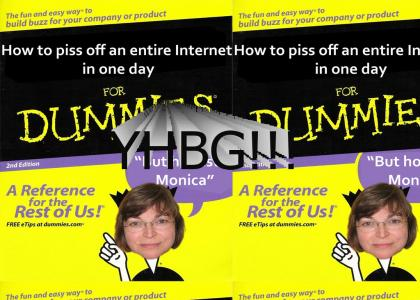 But honestly Monica, the web is public domain