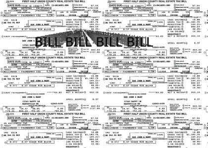 BILL! BILL! BILL!  BILL!