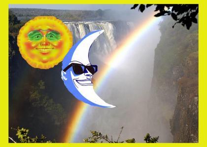 WARM-FEELINGSTMND: Moonman and Sunman are buddies