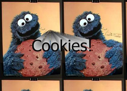 The Cookie Monster had ONE weakness... (UPDATED)