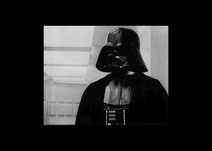 Vader is annoyed