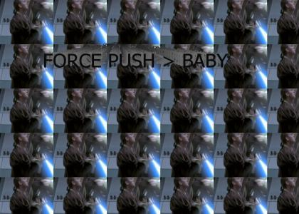 The Force Beats Baby